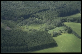 Vue aérienne Fossage Henry en 1997 [copyright Duchesne Jacques]