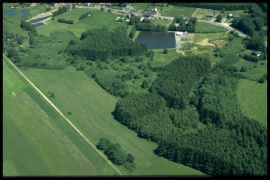 Vue aérienne Graide en 2000 [copyright Duchesne Jacques]