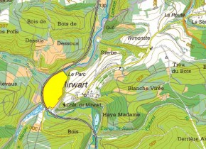 SGIB - Pre des Forges - Localisation
