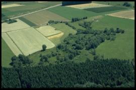 Vue aérienne La Vieille Rochette en 2000 [copyright Duchesne Jacques]