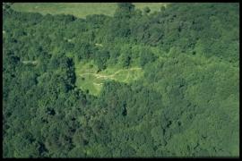 Vue aérienne Le grand pont à Virelles en 2000 [copyright Duchesne Jacques]