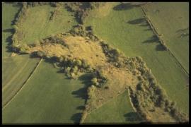 Vue aérienne Le Thier du Gibet en 1997 [copyright Duchesne Jacques]
