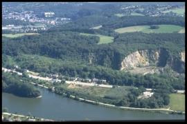 Vue aérienne Lovegnée-Bosquet en 1999 [copyright Duchesne Jacques]