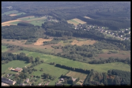 Vue aérienne Marais de Fouches en 2000 [copyright Duchesne Jacques]