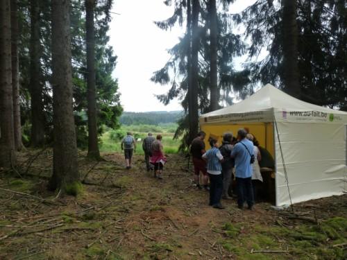 Rallye pédestre projet LIFE-Lomme (02/08/2014)