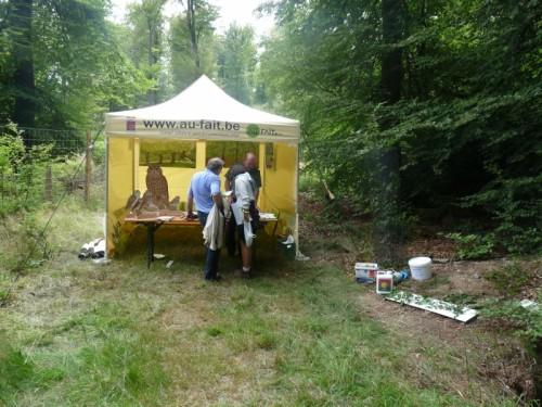 rallye nature du projet LIFE-Lomme (02/08/2014)