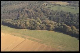 Vue aérienne Rognac en 1997 [copyright Duchesne Jacques]