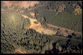 Vue aérienne Vallée du Frankenbach en 1997 [copyright Duchesne Jacques]